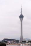 Macau Tower in Macao Peninsula, China Royalty Free Stock Photos