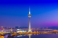 Macau Tower Stock Photos