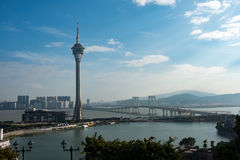 Macau tower Stock Photo