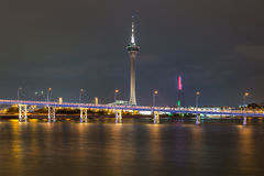 Macau Tower Stock Photos