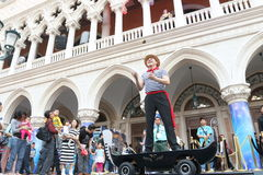 Macau : The Venetian Carnevale 2014 Royalty Free Stock Photos