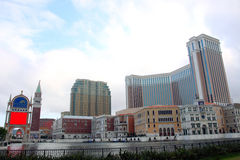 Macau : Venetian Hotel Stock Photo