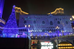 Macau : Venetian Hotel Stock Image