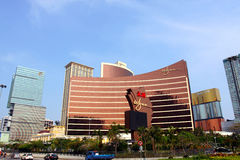 Macau : Wynn Hotel Royalty Free Stock Images