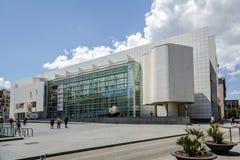 MACBA在巴塞罗那 免版税库存图片