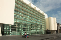 MACBA, Barcelona Royalty Free Stock Photography