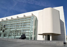 MACBA in Barcelona, Spain Stock Image
