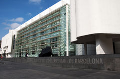Macba museum - Barcelona Royalty Free Stock Photos