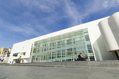 MACBA Museum in Barcelona, Spain. Stock Image