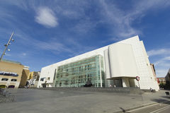 MACBA Museum in Barcelona, Spain. Royalty Free Stock Photography