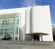 MACBA Museum in Barcelona, Spain. Stock Images