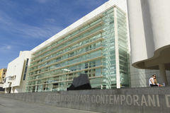 MACBA Museum in Barcelona, Spain. Stock Photos