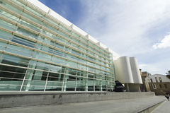 MACBA Museum in Barcelona, Spain. Royalty Free Stock Photo