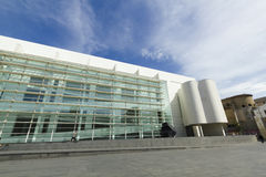 MACBA Museum in Barcelona, Spain. Royalty Free Stock Image