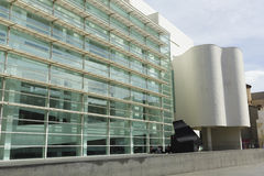 MACBA Museum in Barcelona, Spain. Royalty Free Stock Images