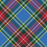 Macbeth tartan kilt fabric textile diagonal pattern seamless Royalty Free Stock Photo
