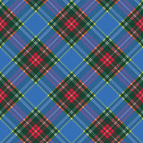 Macbeth tartan kilt fabric texture diagonal seamless pattern Royalty Free Stock Image