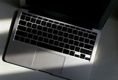 Macbook Air Laptop Keyboard Royalty Free Stock Images