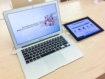 Macbook Air royalty free stock photos