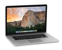 MacBook Pro retina Royalty Free Stock Image