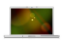 Macbookpro. Laptop perfect for image presentation vector illustration