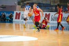 Maccabi starts the attack Stock Photo