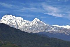 Macchapucchre berg royaltyfri fotografi