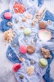 Maccherone assortito dei biscotti di mandorla Immagini Stock Libere da Diritti