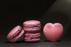 Maccherone rosa Immagine Stock