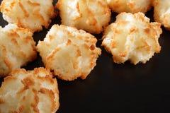 Maccheroni di noce di cocco Fotografia Stock