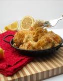 Maccheroni e formaggio dei frutti di mare Fotografia Stock