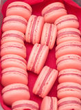 Maccheroni francesi del dessert Immagine Stock