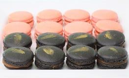 Maccheroni francesi. Dessert Fotografia Stock