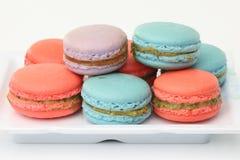 Maccheroni francesi. Dessert Immagine Stock Libera da Diritti