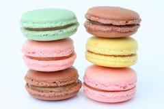 Maccheroni francesi. Dessert Immagine Stock