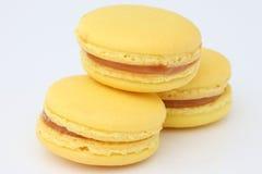 Maccheroni francesi. Dessert Fotografie Stock Libere da Diritti