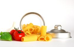 Maccheroni italiano Fotografie Stock