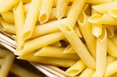 Maccheroni pasta closeup Stock Image