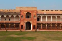 Macchi Mahal w Czerwonym Agra forcie Obraz Royalty Free