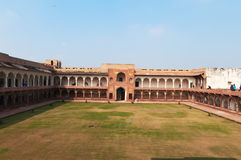 Macchi Mahal w Czerwonym Agra forcie Obrazy Royalty Free