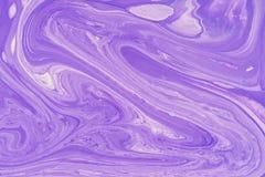 Macchia acrilica liquida di colore immagini stock