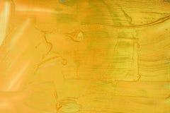 Macchia acrilica liquida di colore immagini stock libere da diritti