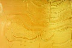 Macchia acrilica liquida di colore immagine stock libera da diritti