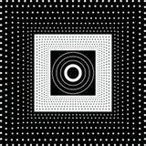 Macchia in bianco e nero Fotografie Stock