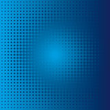 Macchia blu Immagine Stock