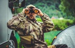 Macchia del gioco di stagione di caccia fotografie stock
