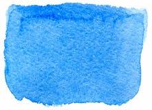 Macchia della pittura dell'acquerello di vettore Fotografia Stock
