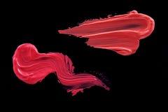 Macchia multicolore del rossetto Immagine Stock Libera da Diritti