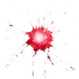 Macchia rossa Fotografia Stock