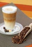 macchiato de latte images stock
